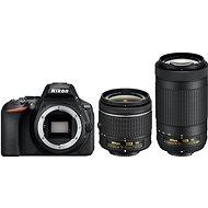 Nikon D5600 + AF-P 18-55mm VR + 70-300mm VR - Digitální fotoaparát
