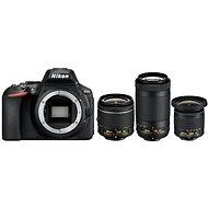 Nikon D5600 + AF-P 18-55mm VR + 70-300mm VR + 10-20mm VR - Digitální fotoaparát