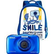 Nikon COOLPIX W100 modrý backpack kit - Dětský fotoaparát