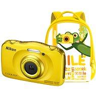 Nikon COOLPIX W100 žlutý backpack kit - Dětský fotoaparát