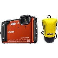 Nikon COOLPIX W300 oranžový Holiday Kit - Digitální fotoaparát