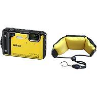 Nikon COOLPIX W300 žlutý + 2v1 plovoucí popruh - Digitální fotoaparát