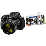 Nikon COOLPIX P900 + Alza Foto Starter Kit - Digitální fotoaparát