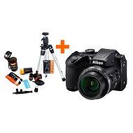 Nikon COOLPIX B500 černý + Rollei Starter Kit