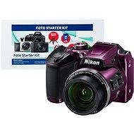 Nikon COOLPIX B500 fialový + Alza Foto Starter Kit - Digitální fotoaparát