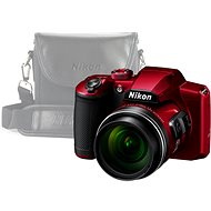 Nikon COOLPIX B600 červený + pouzdro - Digitální fotoaparát