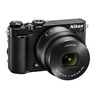 Nikon 1 J5 černý + objektiv 10-30mm - Digitální fotoaparát