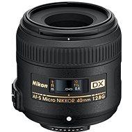 NIKKOR 40mm f/2.8G AF-S ED DX MICRO - Objektiv