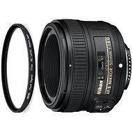 NIKKOR 50mm f/1.8G AF-S + UV filtr HOYA 58mm PRO 1D DHMC - Objektiv