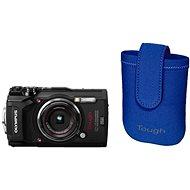Olympus TOUGH TG-5 černý + Tough Neoprene Case - Digitální fotoaparát