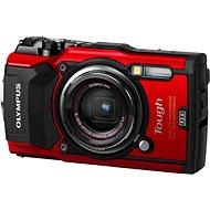 Olympus TOUGH TG-5 červený - Digitální fotoaparát