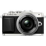 Olympus PEN E-PL7 stříbrný + objektiv 14-42mm Pancake Zoom - Digitální fotoaparát