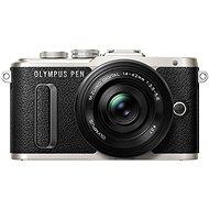 Olympus PEN E-PL8 černý + Pancake objektiv ED 14-42EZ černý - Digitální fotoaparát