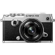 Olympus PEN-F stříbrný + 17mm - Digitální fotoaparát