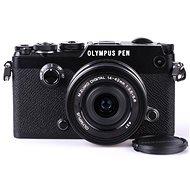 Olympus PEN-F černý + 14-42mm EZ - Digitální fotoaparát