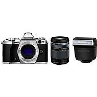 Olympus E-M5 Mark II tělo + objektiv 14-150mm II stříbrný/černý - Digitální fotoaparát