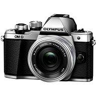 Olympus E-M10 Mark II Silver / Silver + ED 14-42mm EZ - Digital Camera