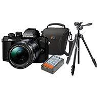 Olympus E-M10 Mark II black/black + ED 14-150 II + Olympus Starter Kit - Digitální fotoaparát