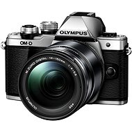 Olympus E-M10 Mark II silver/black + ED 14-150 II - Digitální fotoaparát