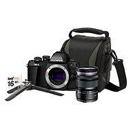Olympus E-M10 Mark II černé + M. ZUIKO DIGITAL ED 12-50 mm f/3.5-6.3 EZ + Lens memory kit - Digitální fotoaparát