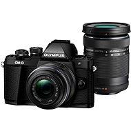 Olympus E-M10 Mark II černé/černé + 14-42mm + 40-150mm II R DZ - Digitální fotoaparát