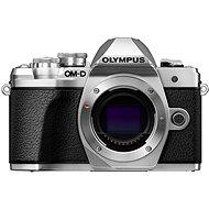 Olympus E-M10 Mark III tělo stříbrné - Digitální fotoaparát
