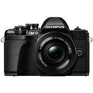 Olympus E-M10 Mark III Black/Black + 14-42mm II R - Digital Camera