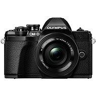 Olympus E-M10 Mark III černé/černé + ED 14-42mm EZ - Digitální fotoaparát