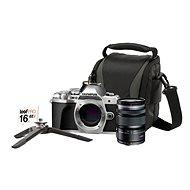 Olympus E-M10 Mark III stříbrné + M. ZUIKO DIGITAL ED 12-50 mm f/3.5-6.3 EZ + Lens memory kit - Digitální fotoaparát