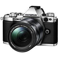 Olympus OM-D E-M5 Mark III + 14-150 mm II stříbrný - Digitální fotoaparát