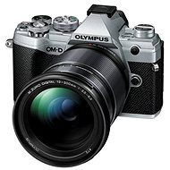 Olympus OM-D E-M5 Mark III + 12-200 mm stříbrný - Digitální fotoaparát