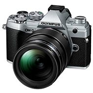 Olympus OM-D E-M5 Mark III + 12-40 mm PRO stříbrný - Digitální fotoaparát