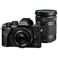 Olympus OM-D E-M10 Mark IV + 14-42 mm EZ + 40-150 mm R černý - Digitální fotoaparát