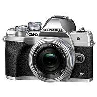 Olympus OM-D E-M10 Mark IV + 14-42 mm EZ stříbrný - Digitální fotoaparát