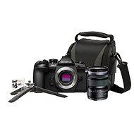 Olympus E-M1 Mark II černý + M.ZUIKO DIGITAL ED 12-50mm f/3.5-6.3 EZ + Lens memory kit - Digitální fotoaparát