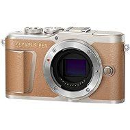 Olympus PEN E-PL9 tělo hnědé - Digitální fotoaparát