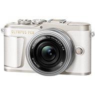 Olympus PEN E-PL9 bílý + M.Zuiko Pancake 14-42mm - Digitální fotoaparát