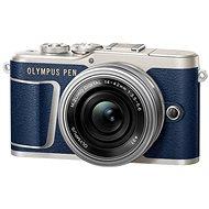 Olympus PEN E-PL9 modrá + M.Zuiko Pancake 14-42mm + Travel kit - Digitální fotoaparát