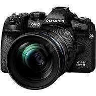 Olympus E-M1 Mark III tělo + objektiv 12-40mm černý/černý - Digitální fotoaparát