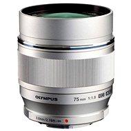 M.ZUIKO DIGITAL ED 75mm f/1.8 silver - Objektiv