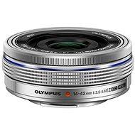 M.ZUIKO DIGITAL ED 14-42mm f/3.5-5.6 EZ silver - Objektiv