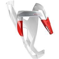 Elite Custom Race Plus lesklý bílý/červený - Košík na lahev