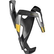 Košík na lahev Elite Vico Carbon matný černý/žlutý