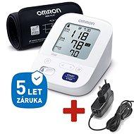 OMRON M3 Comfort intelli +ZDROJ (SET), 4roky záruka