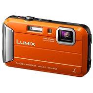 Panasonic LUMIX DMC-FT30 oranžový - Digitální fotoaparát
