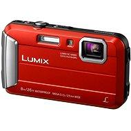 Panasonic LUMIX DMC-FT30 červený - Digitální fotoaparát