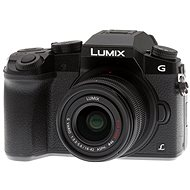 Panasonic LUMIX DMC-G7 černý + objektiv LUMIX G VARIO 14-42 mm (F3.5-5.6) - Digitální fotoaparát