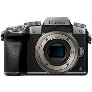 Panasonic LUMIX DMC-G7 stříbrný - Digitální fotoaparát