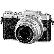 Panasonic LUMIX DMC-GF7 stříbrný + objektiv 12-32mm - Digitální fotoaparát