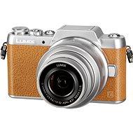 Panasonic LUMIX DMC-GF7 hnědý + objektiv 12-32mm - Digitální fotoaparát